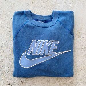 💙 VINTAGE NIKE Sweatshirt Blue Unisex size L